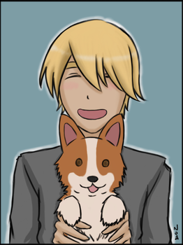 APH - Corgi Love by Vamprincess-Noa