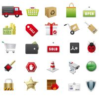 Shopping Vector Icons by FreeIconsFinder