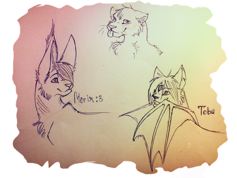 Sketches  for trades.lol by Furry-Rock95