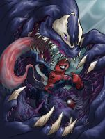 Spiderman Venom - Consumed by LRitchieART