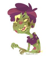 I am a zombie by kmwoot
