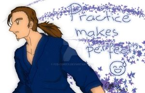Practice Makes Perfect! by fcb-comics