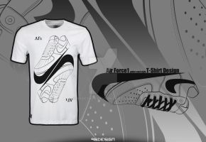 Air Force 1 Poker Card Style (wht) by 96design