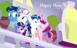 Happy New Year's from The Family Sparkle! by dm29