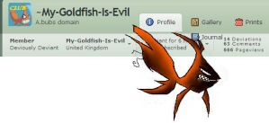 Evil's Mark... by My-Goldfish-Is-Evil