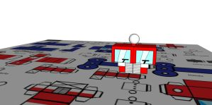 Lil Optimus In 3d by Lilscotty