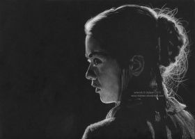 Arya Stark (Maisie Williams) by Ilojleen
