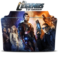 DC's Legends of Tomorrow Icon Folder by Mohandor