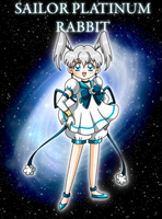 Sailor Platinum Rabbit by YukiMiyasawa