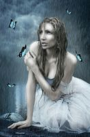 Under the Rain by Vampy-note