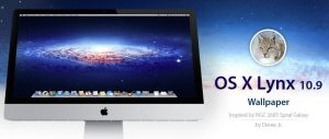 OS X 10.9 Lynx Wallpaper by denesjunior