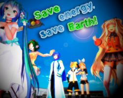 Save Energy,save Earth! by Kimmy931