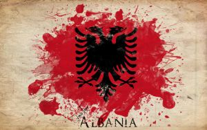 Albanian Flag by ChR1sAlbo