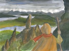 Wanderer in the Hebrides by chorsahgryphon