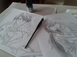 My drawings :) by DibujosAngieKonan