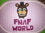 FNAF WORLD Freddy Fazbear Play Doh by Kittylover9399