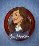 Ann Perkins Portrait by AmberDust