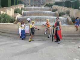 Group FFX by Riku3Charu