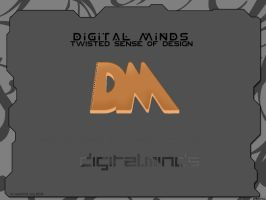 Digital Minds 2D by krypt0