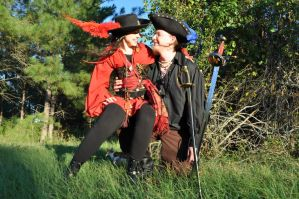 The Pirate and his Wench by Captain-Savvy