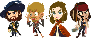 Pirates of the Caribbean by mozhiyaoe