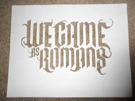 We Came As Romans by TheSuperiorSpiderMew