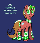 Ag TONGUE by DeeEll