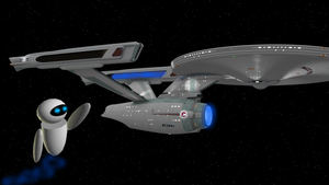 EVE meets the Enterprise by enterprisedavid