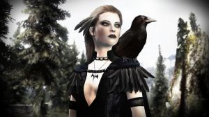 Amelie the Crow Princess by amnis406