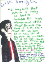 Michael Jackson Earth Song by karutimburtonfan