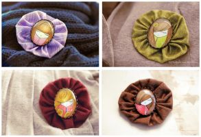 Brooches I by nabey
