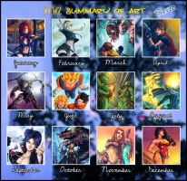 2012 summary of art by diabolumberto