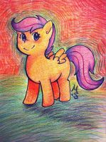 Scootaloo by MosaicSplash