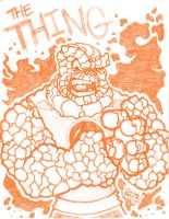 The Thing by thatjuniorbruce