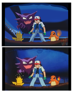 Pokemon pic Remaster (Ash be hide you!!! by ColorDrake
