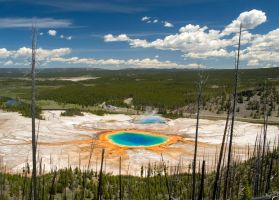 Grand Prismatic Pool  - No.2 by eDDie-TK