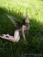 Olya, forest fairy 3 by Moniee