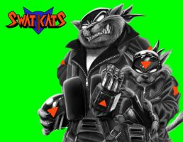 SWAT KATS almost done by cheetor182