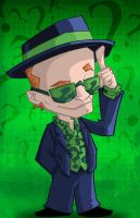 Collab - KN Riddler by happymonkeyshoes