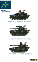 Nato Alliance  Recon Tanks (British) by Luckymarine577
