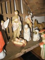 Nativity Scene 2 by GreenEyezz-stock