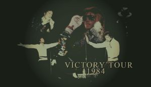 Victory Tour 1984 Wallpaper by For-Always