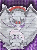 Shadow Kirby X  Dark Meta Knight by SonirbyLovS
