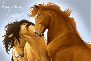 The Elite - Happy BDay Champie ! by BH-Stables