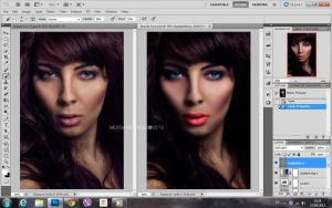 Project Work : Beauty Face by mossaabdaoui