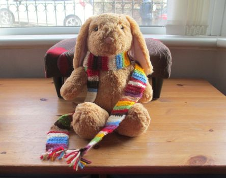 Crochet Fourth Doctor Who Scarf by fourthimbles