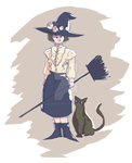 Witchsona by Flaming-Scorpion