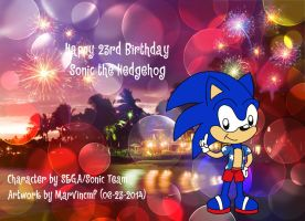 Sonic's 23rd Birthday Memories by marvincmf