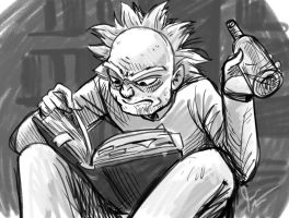 Rick And Morty-  Rickstudies by jameson9101322