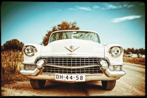The old car by calimer00